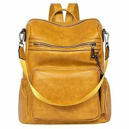 backpack purse for women fashion two toned
