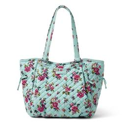 Vera Bradley Glenna Satchel  Purse In Water Bouquet NWT