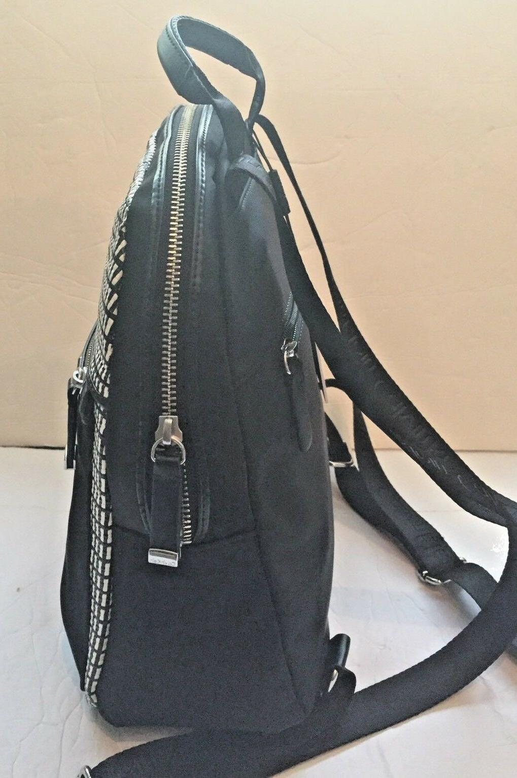 Authentic Black Backpack. NWT