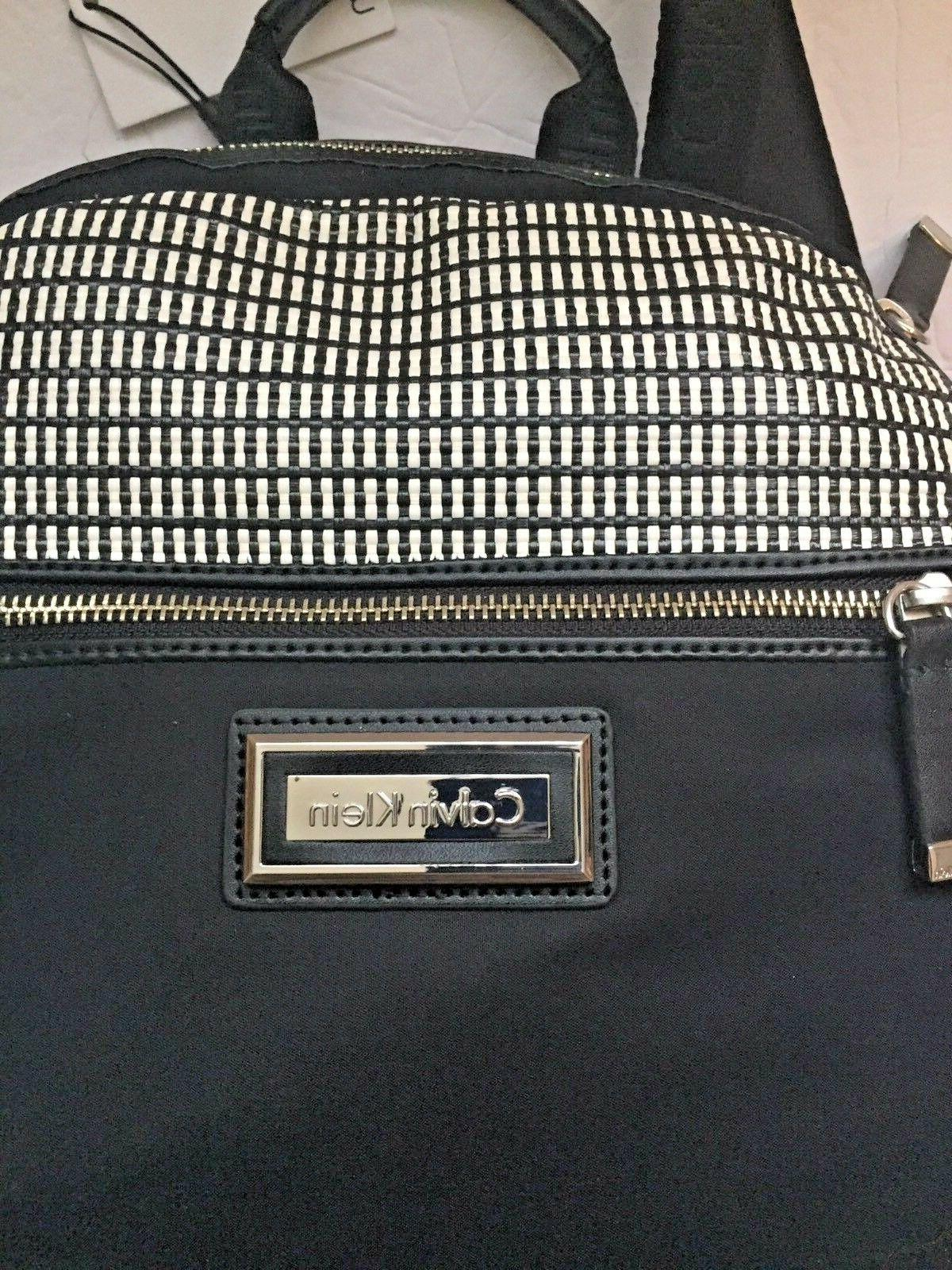 Authentic Klein Black /White Backpack.
