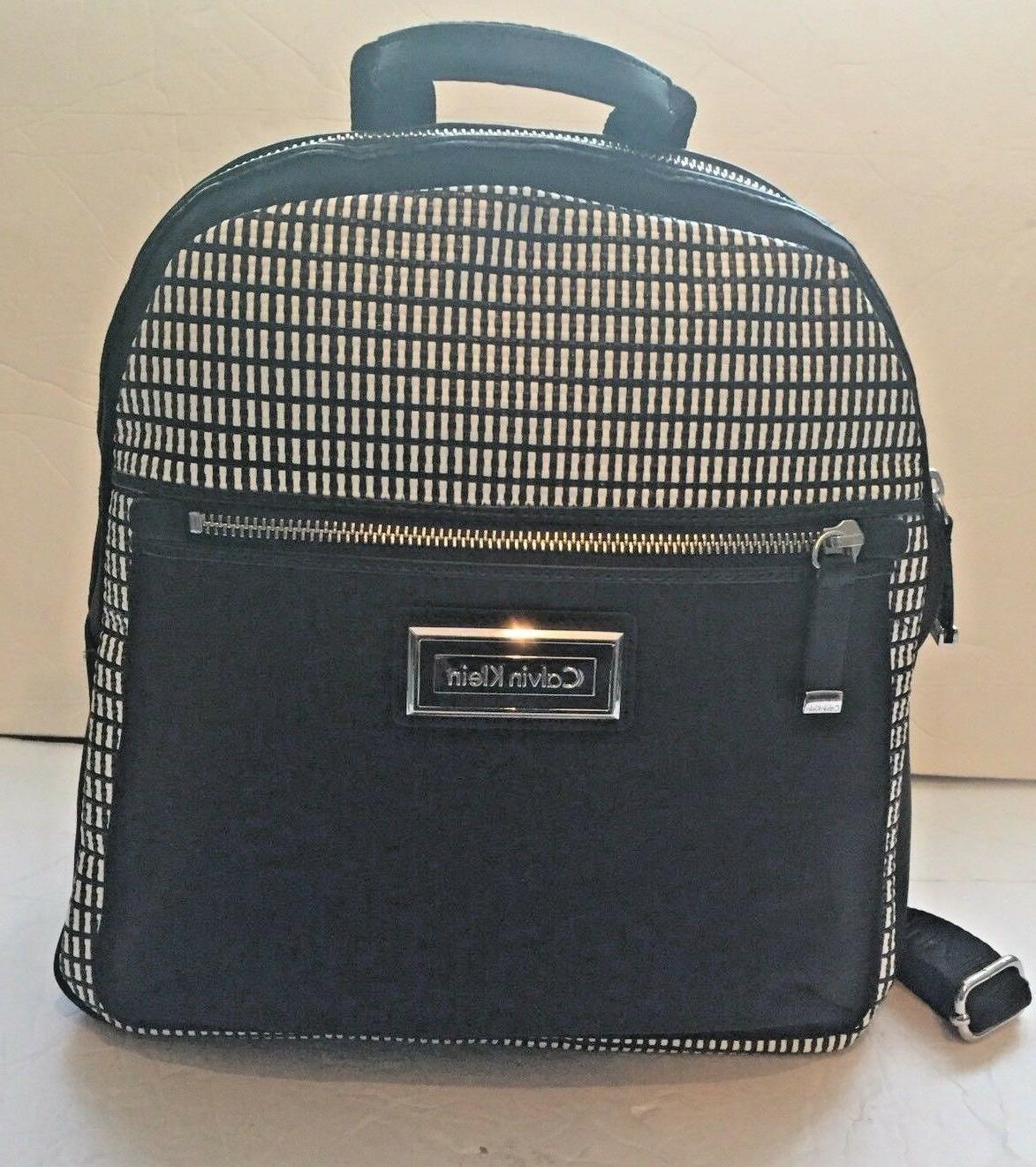 authentic belfast black white backpack nwt