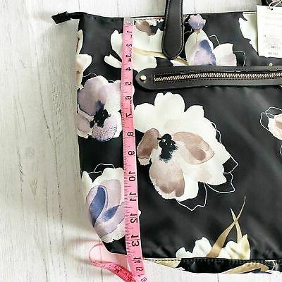 A New Day Floral Zip Closure Tote