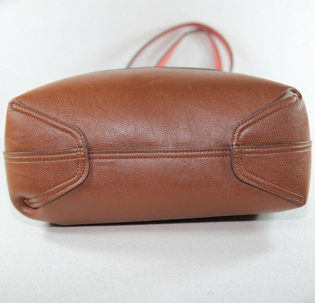 Calvin Pink Reversible Purse Tote with Bag $188