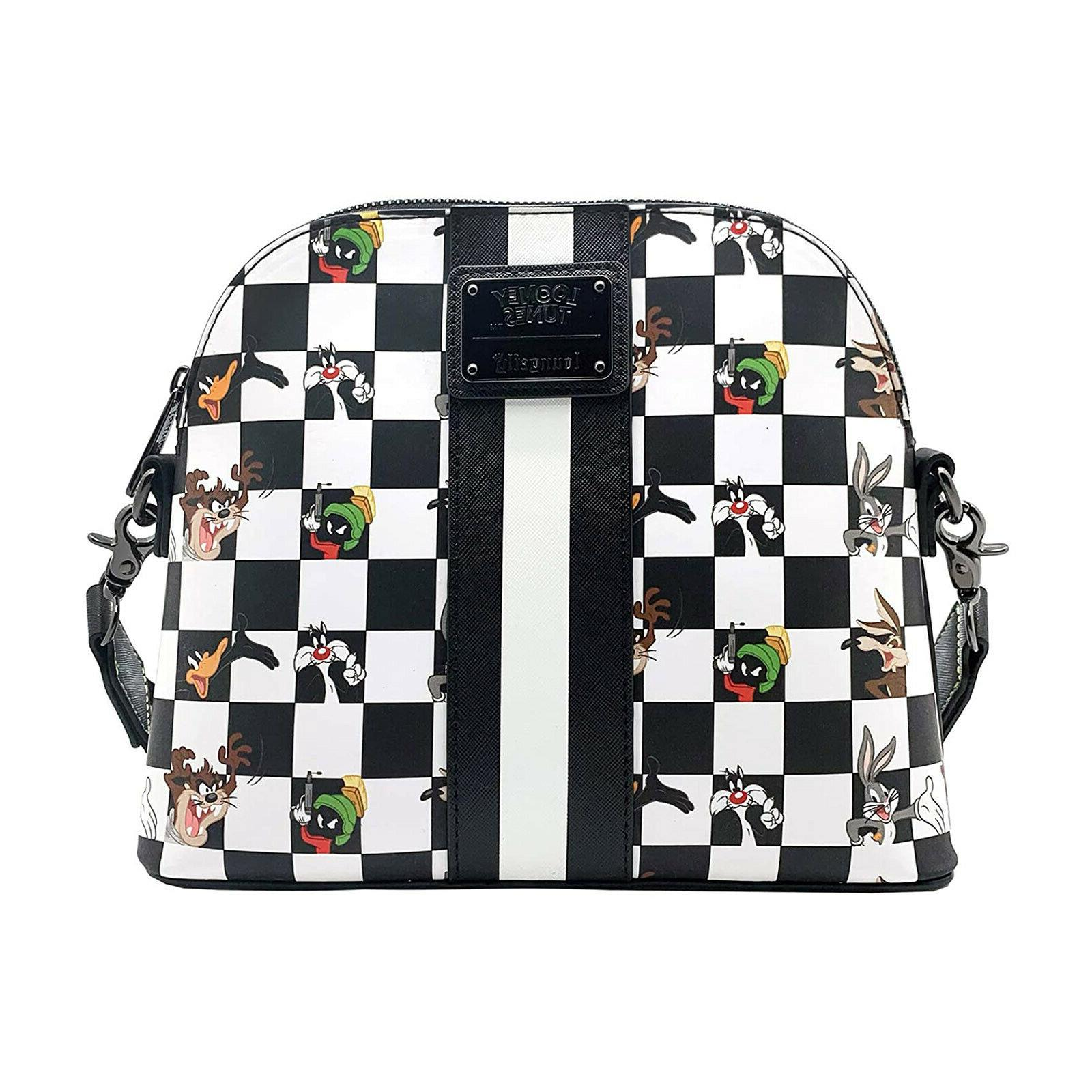 looney tunes black and white checkered character