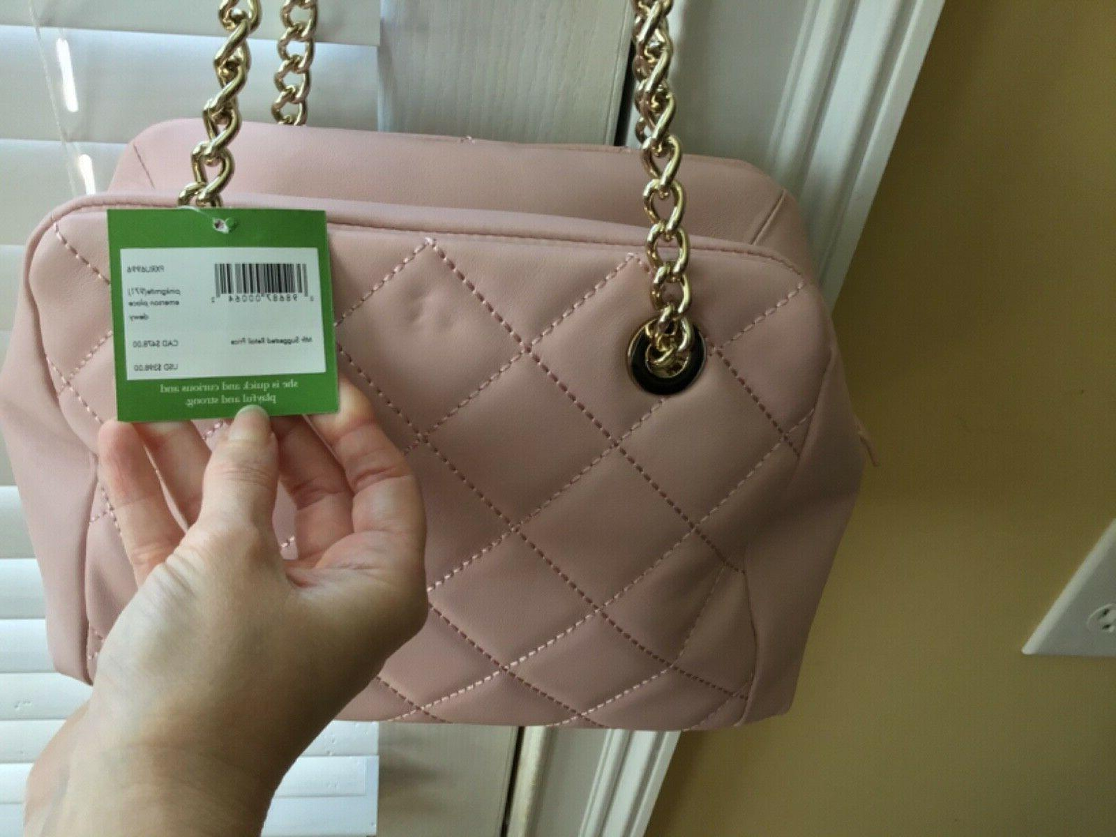 NWT EMERSON PLACE DEWY PINK SHOULDER BAG
