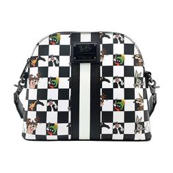 Loungefly Looney Tunes Black And White Checkered Character C
