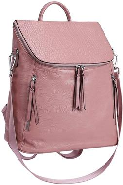 mother day gifts genuine leather women backpack