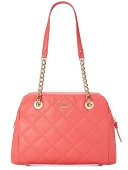 New Kate Spade New York Emerson Place Dewy Bag quilted leath