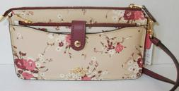 Coach Noa Pop-Up Messenger With Mixed Floral Print 66654 New