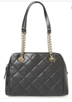 NWT 🌸 Kate Spade Emerson Place Dewy Black Quilted Leather