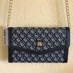 NWT Anne Klein Wallet On A String Shoulder Bag Purse Handbag