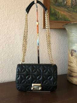 Michael Kors Sloan Small Floral Quilted Chain Shoulder Bag B