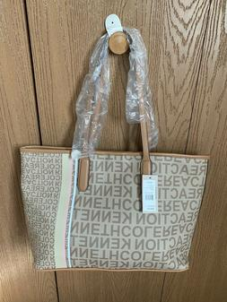 Kenneth Cole REACTION TAN TOTE PURSE NEW