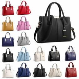 Women Lady Handbag Shoulder Bags Tote Purse Leather Messenge