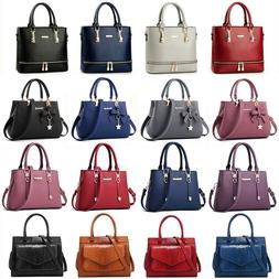Women Lady Leather Handbag Shoulder Bag Crossbody Satchel Me