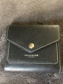 Borgasets Women's RFID Blocking Small Compact Bifold Leather